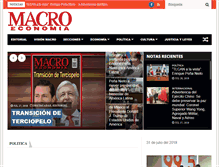 Tablet Preview of macroeconomia.com.mx